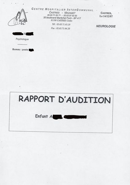 rapport audition Aude (1)