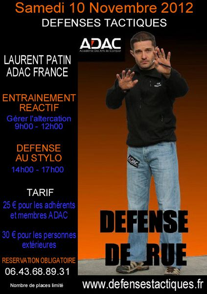 Stage Laurent PATIN