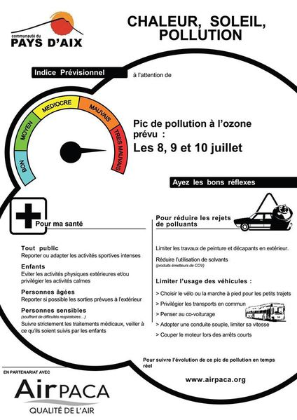 pays d'Aix en Pollution