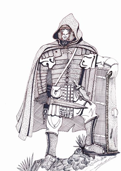 Legionnaire Romain Cape