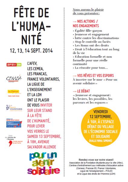 Invitation FDH 2014