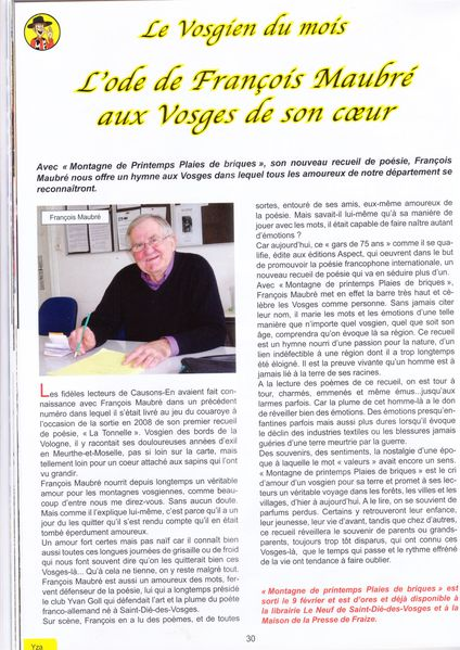 ARTICLE CAUSONS EN