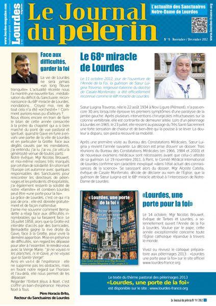 Couverture Journal du pèlerin 9