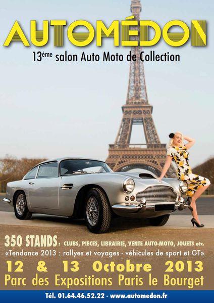 13è Salon Automédon affiche