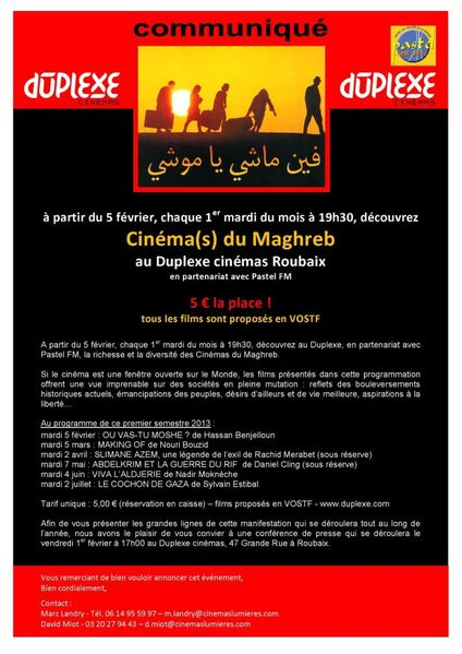 Cinema(s) du Maghreb