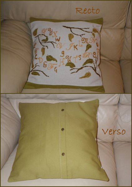 2014 - Coussin ABCdaire