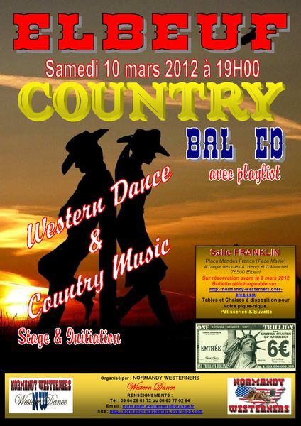 Affiche Bal NW9 10 mars 2012