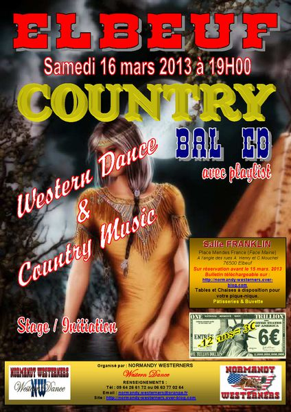 Affiche Bal NW14 16 mars 2013