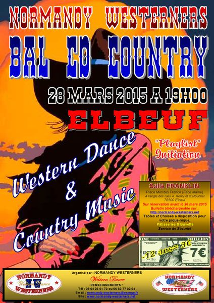 Affiche Bal NW24 28 Mars 2015
