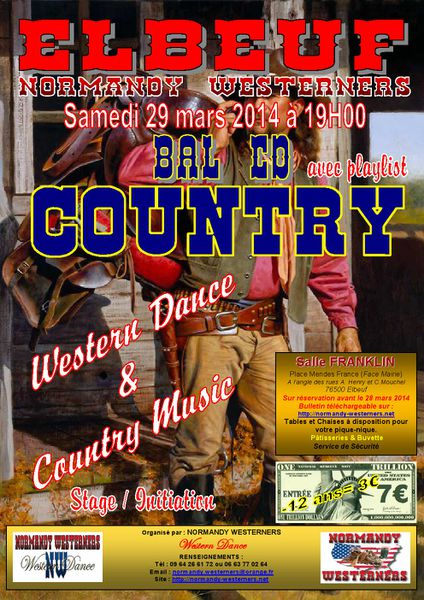 Affiche Bal NW19 29 mars 2014