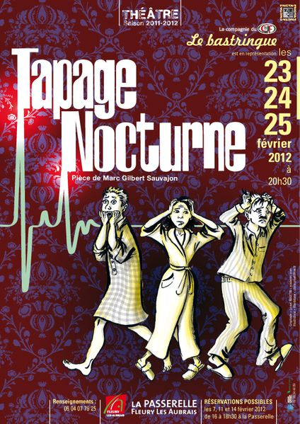 Affiche spectacle Tapage nocturne