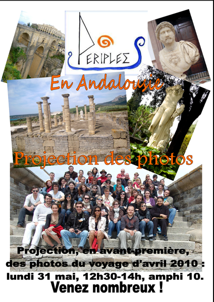 Affiche projection