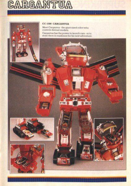 catalogue matchbox 1988 f44 robot gargantua