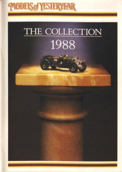 catalogue matchbox 1988 f62 the collection 1988