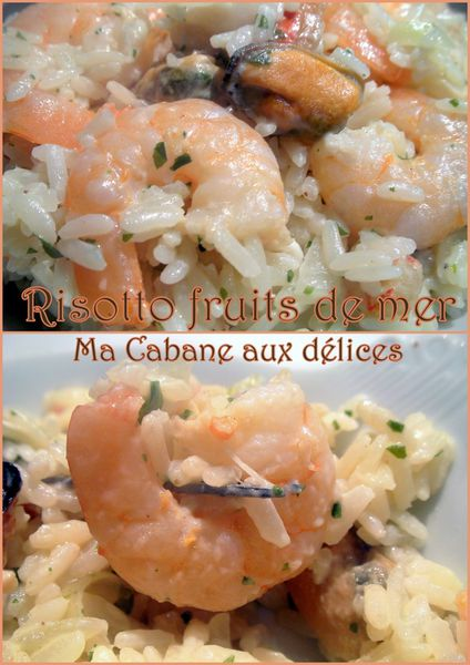 Risotto fruits de mer photo 4
