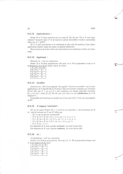 page vraies maths