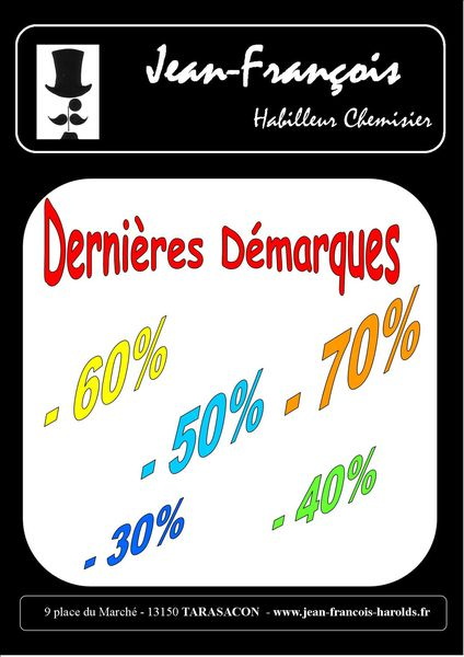 JFH dernieres demarques