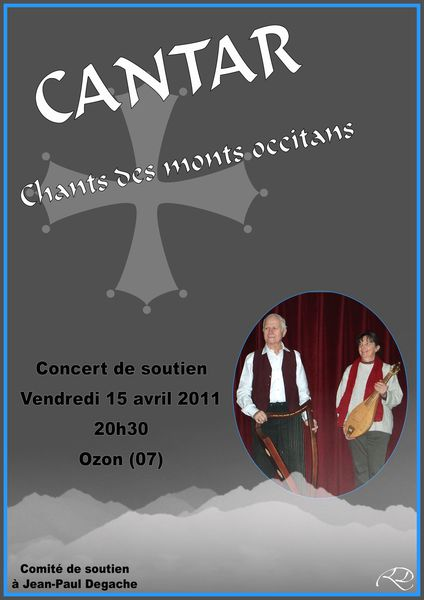 affiche concert cantar