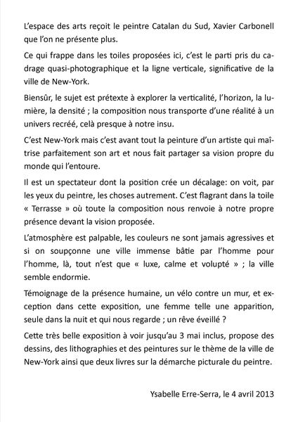 texte press-book CARBONELL