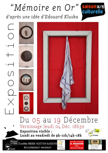 affiche exposition memoire en or JPG