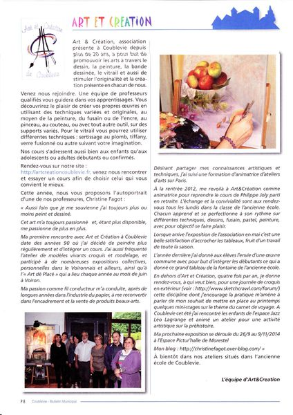 Bulletin coublevie N°37