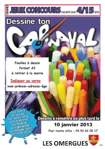2012-11 Concours affiche carnaval