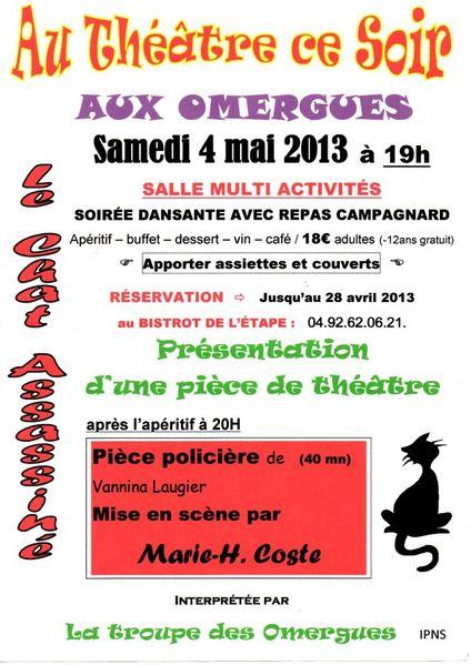 2013-05-04 Affiche Théatre