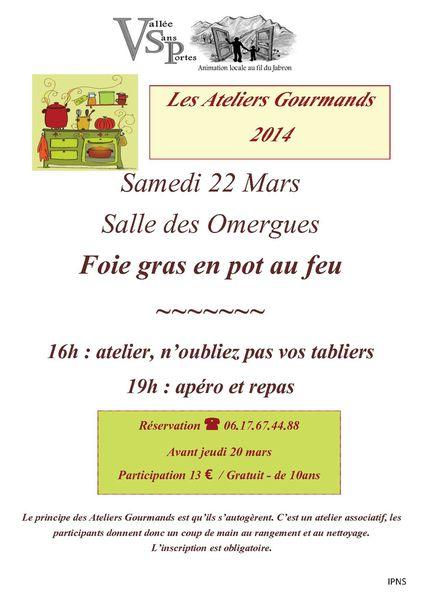 2014-03-22 atelier gourmand Foie Gras