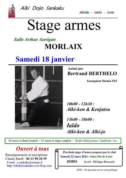 Stage janvier - 2014