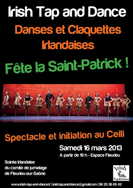 affiche Irish Tap and Dance