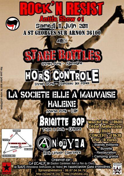 Rock'n Resist Antifa Show #01 format réduit