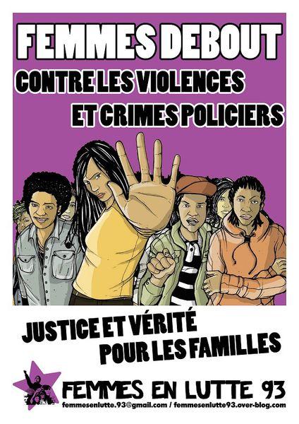affiche crimes policiers petit format