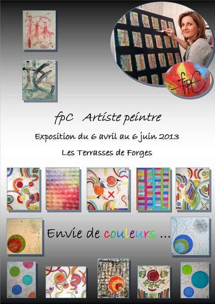 Expo Les Terrasses de Forges avril mai 2013