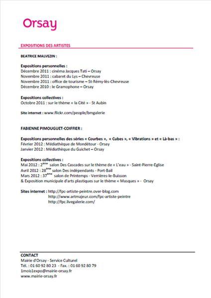 Communiqué de presse un mois une expo novembre 2012 page 3