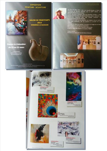 catalogue salon de Verrières 2013