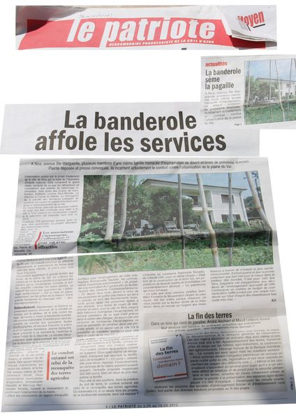 article patriote volbanderole