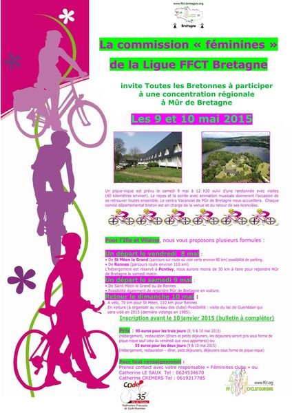 flyer we 8 9 10 mai 2015 mûr de bretagne