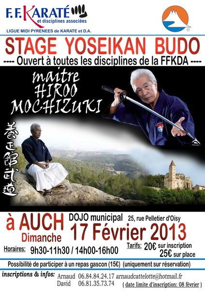 2013 Affiche Stage Hiroo 1