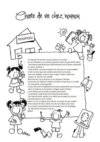 charte de vie chez nounou pour les parents 2
