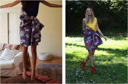 fashion ballyhoo - 2 Caterina Gatta lookbook imprimés retr