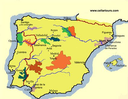 Rioja Region Spain Map.Rioja Ri Visited The Trusty Vine