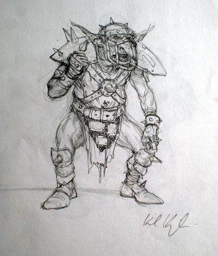 Blood Bowl sketches