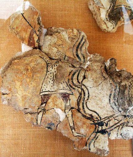 713d9c Pylos, musée de Chora, fresque du palais de Nestor