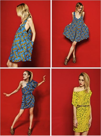 fashion ballyhoo - 7 Caterina Gatta lookbook imprimés retr