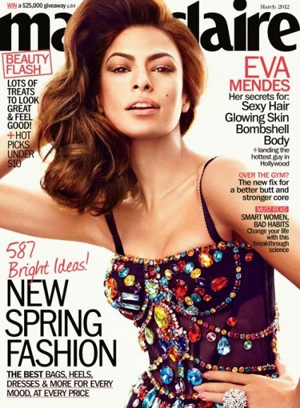 Eva Mendes---- Dolce --- Gabbana --- Marie Claire-Cover-March-201.jpg