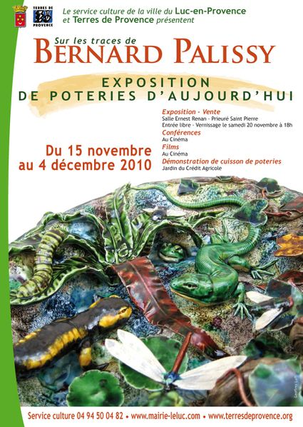 Affiche 32x45 .EXPO PALISSY 1010