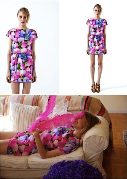 fashion ballyhoo - 1 Caterina Gatta lookbook imprimés retr