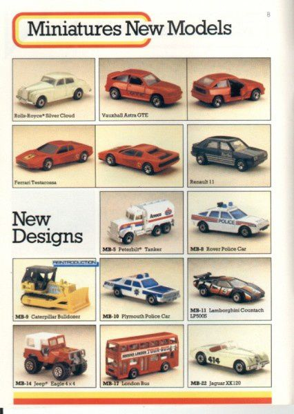 catalogue matchbox 1986 p08 r11 astra gte jeep eagle