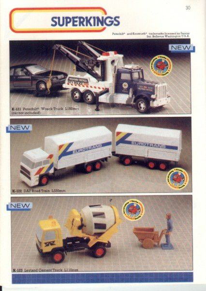 catalogue matchbox 1986 p30