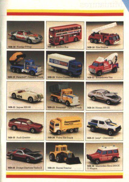 catalogue matchbox 1987 p04 dodge daytona turbo z mercedes